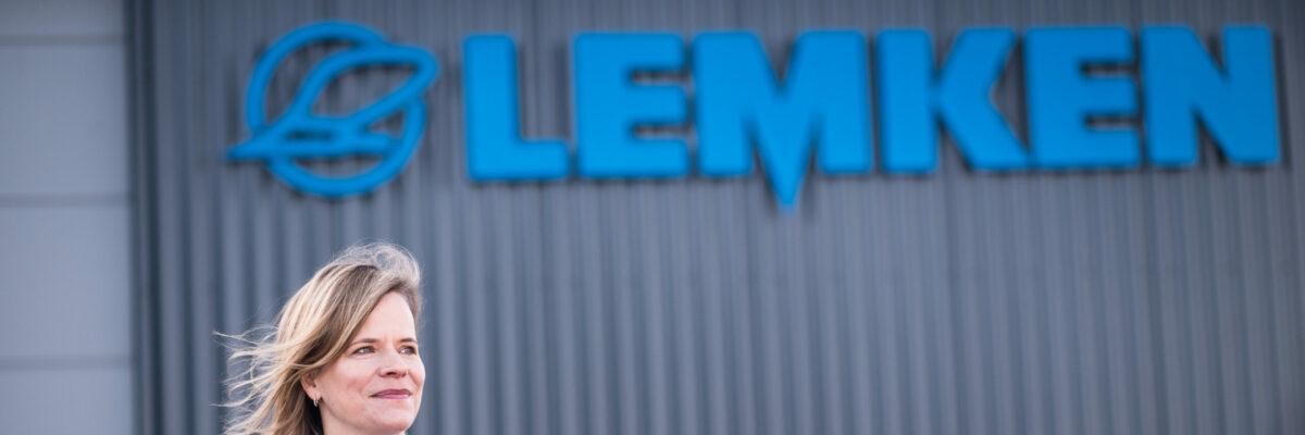 Nicola Lemken, Geschäftsfuehrerin der LEMKEN GmbH & Co. KG. Europa, Deutschland, Nordrhein-Westfalen, Alpen. 19.02.2021
